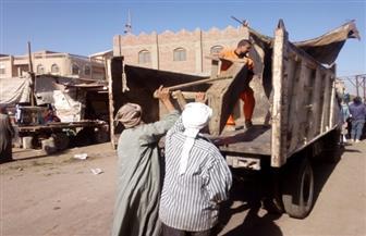رفع وإزالة 454 حالة إشغال وتحرير 22 محضرا في حملة بأهناسيا | صور