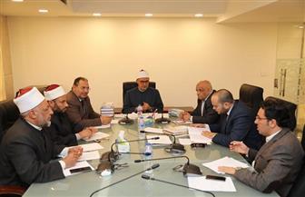 لجنة التنسيق بين الأزهر ومؤسسات الدولة تناقش الخطة النهائية للقضايا التي ستتناولها اللقاءات الجماهيرية | صور