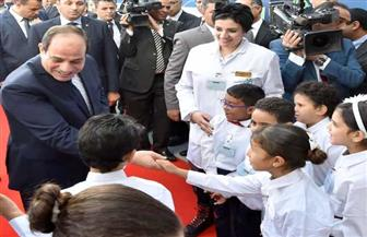تفاصيل افتتاح الرئيس السيسي أنفاق بورسعيد والمنطقة الصناعية والرصيف البحرى | صور وفيديو