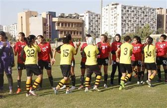 منتخب الكرة النسائية يهزم وادي دجلة وديا