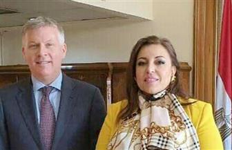 مساعدة وزير الخارجية للشئون الأمريكية تناقش مع سفير كندا بمصر سبل دفع العلاقات الثنائية بين البلدين