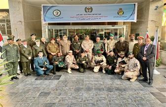 تكريم المشاركين في ختام دورة الإعداد البدني العسكرية بالأردن | صور