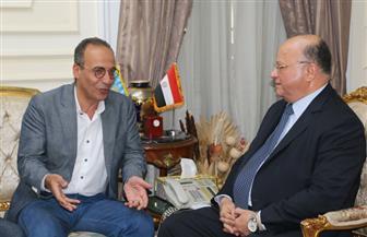 محافظ القاهرة يلتقي رئيس هيئة الكتاب لبحث الاستعداد للمعرض | صور