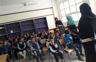 حملات توعية لترشيد استهلاك المياه داخل مدارس الأقصر   صور