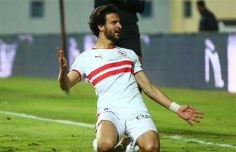 محمود علاء يسجل الهدف الثالث للزمالك في مرمى الجونة