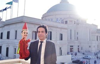 نبيل بهجت يحاضر عن «الأراجوز المصري» في جامعة القاهرة | صور