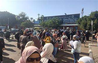 النفقة خط أحمر.. المسيرة النسائية تطالب بحقوق المرأة بالنفقة | صور وفيديو