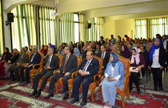 ختام فعاليات معرض جامعة المنصورة التاسع للكتاب | صور