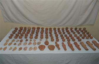 ضبط عاطل بحوزته 269 قطعة أثرية بقصد الاتجار بالمنيا