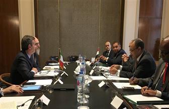 مشاورات سياسية بين مصر وإيطاليا حول العلاقات الثنائية والقضايا الإقليمية