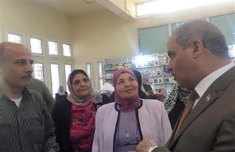 رئيس جامعة الأزهر يتفقد معرض الكتاب بفرع البنات ويؤكد أهمية القراءة في حياة الشعوب | صور