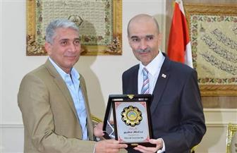 سكرتير مساعد محافظة مطروح يستقبل سفير جورجيا بالقاهرة | صور