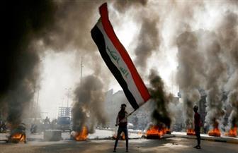 متظاهرون عراقيون يقطعون الطرق المؤدية إلى حقول نفطية في البصرة