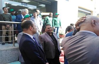 محافظ أسوان السابق يشارك في افتتاح هايبر دراو