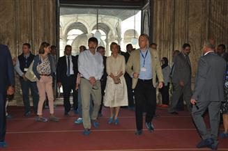 رئيس المجر يزور قلعة صلاح الدين الأيوبي| صور