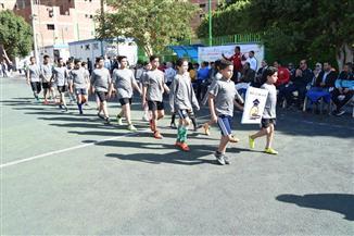 انطلاق بطولة أشبال مصر للكرة الخماسية بجامعة سوهاج| صور