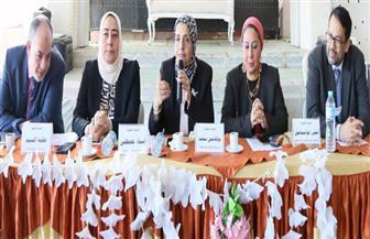 رئيس جودة التعليم تشيد بمستوى العملية التعليمية بشمال سيناء