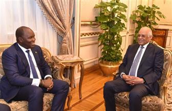 رئيس مجلس النواب يستقبل سفير جنوب السوادان| صور