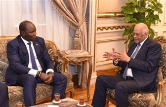 سفير جنوب السودان: مصر المثل الذى نقتدى به ونتعلم منها الشهامة والأصالة والتعايش والتاريخ