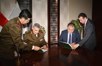 بروتوكول تعاون بين إدارة الخدمات الطبية للقوات المسلحة وهيئة الإسعاف المصرية