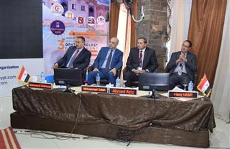 افتتاح المؤتمر العلمي الثالث لجراحة العيون بالمستشفى التعليمي بسوهاج | صور