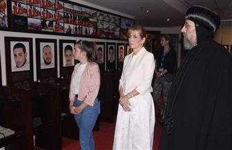 السيدة الأولى بالمجر تزور المتحف البطريركي والبانوراما القبطية | صور
