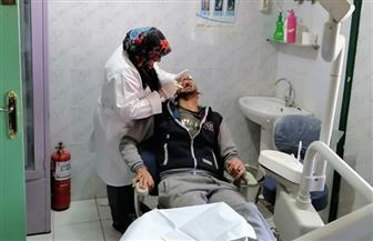الكشف الطبي على 2500 مواطن بقرية عطا الله مركز الزرقا بدمياط مجانا   صور