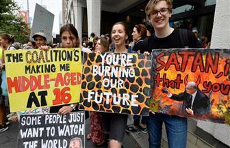 متظاهرون في سيدني يطلقون سلسلة احتجاجات عالمية على ظاهرة الاحتباس الحراري