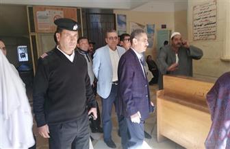 في زيارة مفاجئة.. محافظ الغربية يتفقد مستشفى قطور المركزى  صور