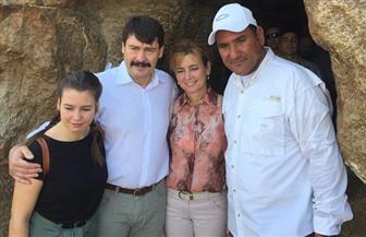 رئيس جمهورية المجر وقرينته يزوران منطقة آثار الهرم وسقارة| صور