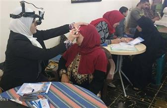 """الكشف على 400 مواطن في قافلة للعيون بـ """"ميت غزال"""" في الغربية  صور"""