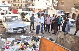 محافظ أسيوط يفاجئ العاملين بمحطة السكة الحديد ويحيل مخالفات القمامة بحي غرب إلى النيابة الإدارية| صور