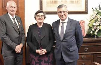 القنصل العام المصري في ملبورن يلتقي مع كبار المسئولين بولاية غرب أستراليا | صور