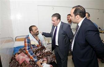محافظ المنوفية يتفقد مستشفى شبين الكوم.. ويؤكد: منظومة الصحة على رأس الأولويات