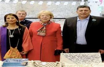 السفارة المصرية بدبلن تشارك في البازار الدولى الخيرى بمقر الجمعية الملكية
