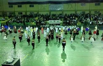 افتتاح أوليمبياد المحافظات الحدودية بالغردقة | صور