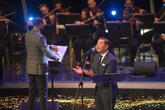 """مدحت صالح يختتم حفله بالموسيقى العربية بـ""""أنا ابن مصر"""""""