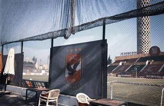 الأهلي يغلق ملعب التتش أمام الجواسيس   صور