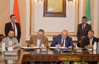 بروتوكول تعاون بين جامعة القاهرة ومهرجان القاهرة السينمائى الدولي | صور