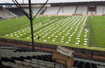 ملعب مازيمبي جاهز لاستضافة مباراة الزمالك