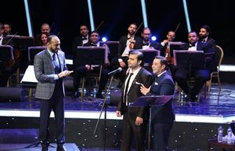 في حفل مدحت صالح بالموسيقى العربية.. فكرة مختلفة وموهبة جديدة | صور