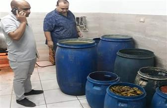 ضبط وإعدام طن أغذية غير صالحة للاستهلاك الآدمي بشرم الشيخ ودهب | صور