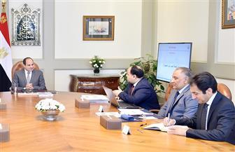 تفاصيل لقاء الرئيس السيسي بمدبولي ووزراء الصحة والمالية  لمتابعة إجراءات تنفيذ منظومة التأمين الصحي الشامل