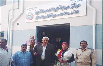 الكشف على 1310 من المرضى مجانا خلال قافلة طبية بقرية عرابة أبو الدهب بسوهاج | صور
