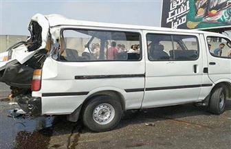 إصابة 11 طالبا في حادث تصادم سيارة وميكروباص بدمياط