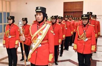 فرقة الموسيقى العسكرية النسائية.. لحن جديد لإنجازات المرأة البحرينية