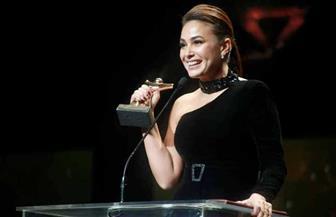 """ماذا قالت هند صبري بعد تتويجها بجائزة أحسن ممثلة في """"قرطاج""""؟!  صور"""