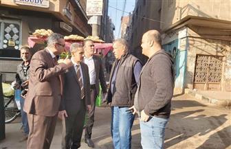 محافظ الغربية يفاجئ عمال النظافة بجولة في شوارع طنطا | صور