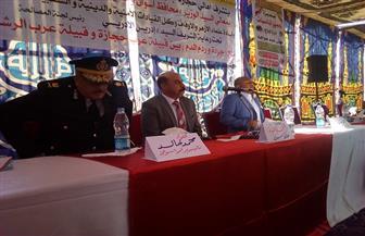 محافظ أسوان يشهد مراسم صلح بين عائلتين في كوم أمبو| صور