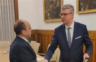 سفير مصر لدى التشيك يبحث مع وزير الصناعة والتجارة دفع العلاقات التجارية والاستثمار بين البلدين